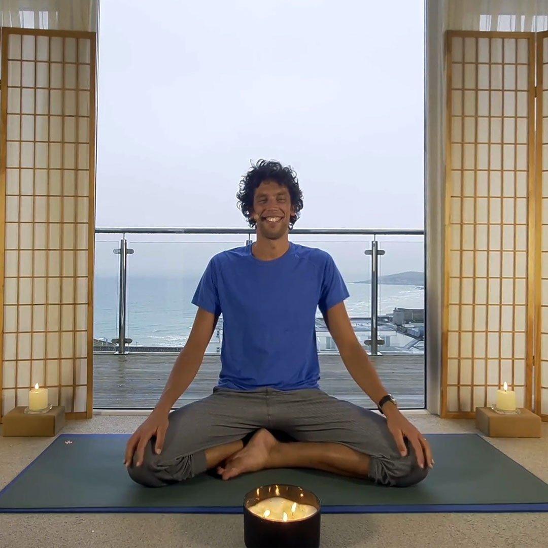 Oceanflow Anywhere online meditation on demand the present moment