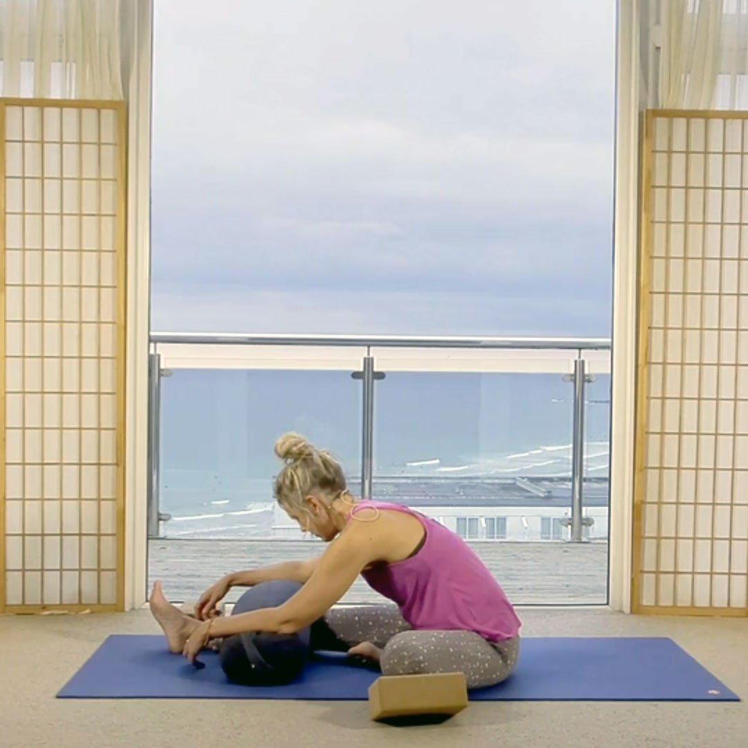 On Demand Online Yoga Oceanflow Anywhere Yin hips and hamstrings