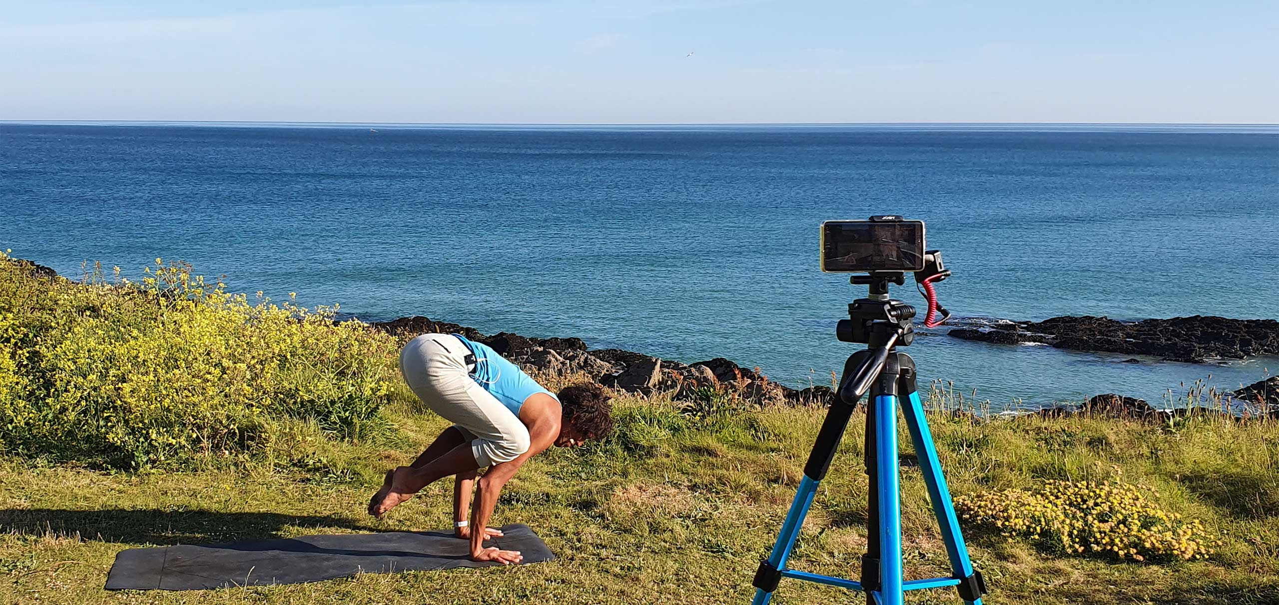 Oceanflow Anywhere on demand yoga workshops online
