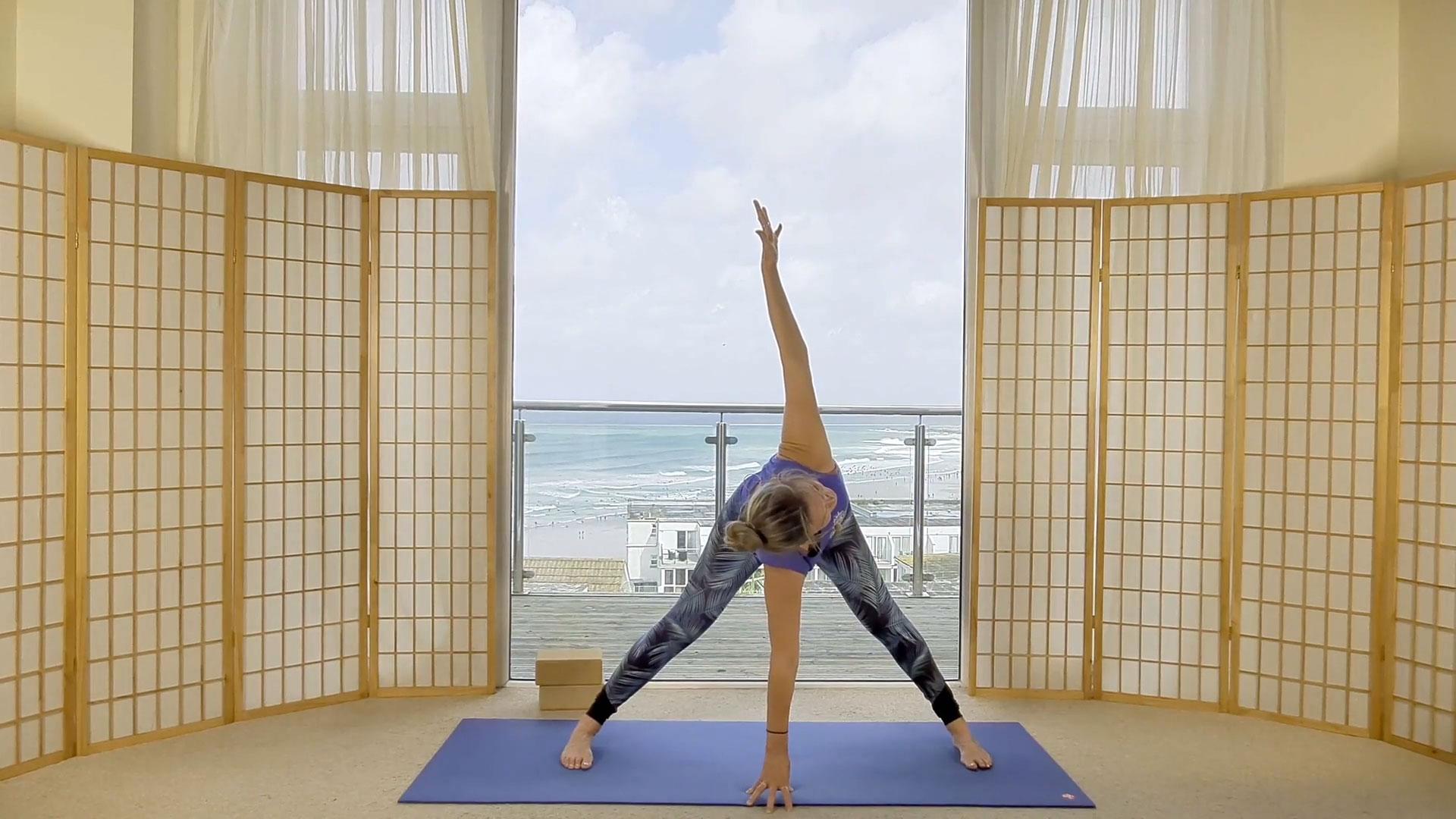 Energise 60 Fire X Earth Vinyasa Yoga Online On demand