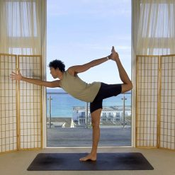 foundation beginners yoga online on demand class standing bow