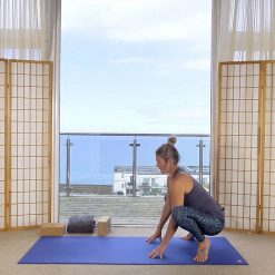 slow flow yoga online on demand class grounding