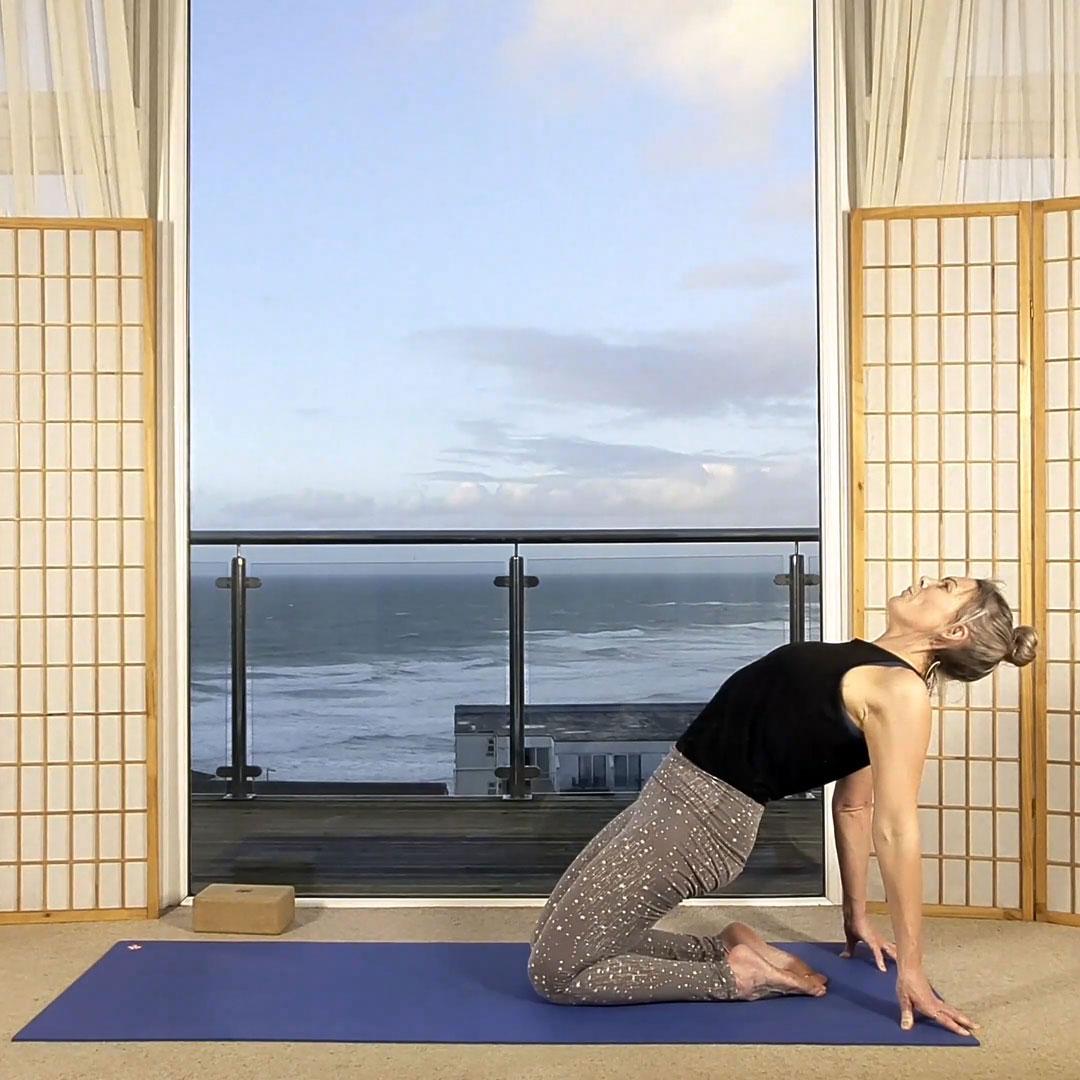 slow flow 30 lunar flow online on demand yoga