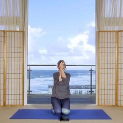 online yin yoga release neck and shoulder tension
