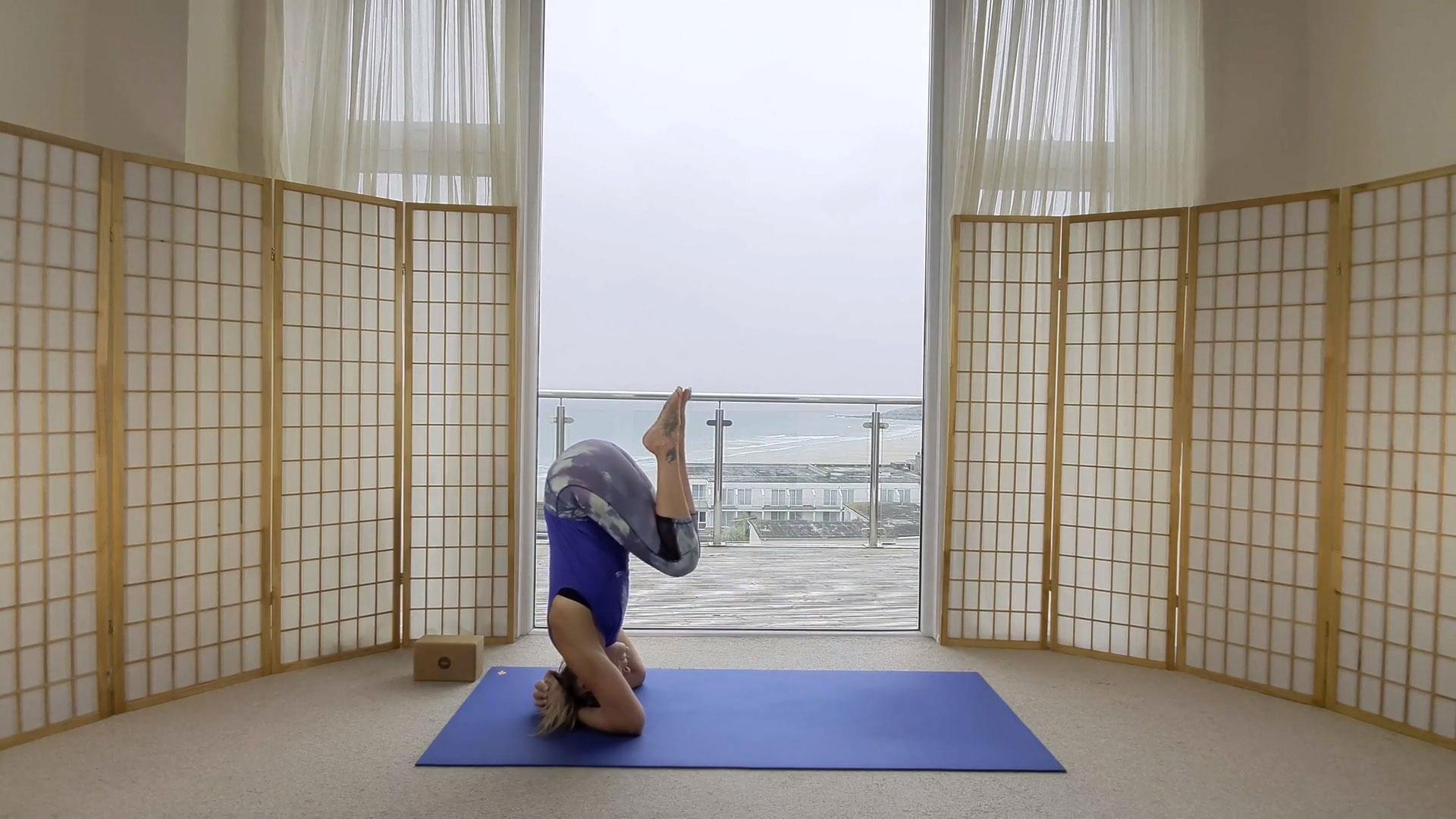 fundamentals of headstand on demand yoga