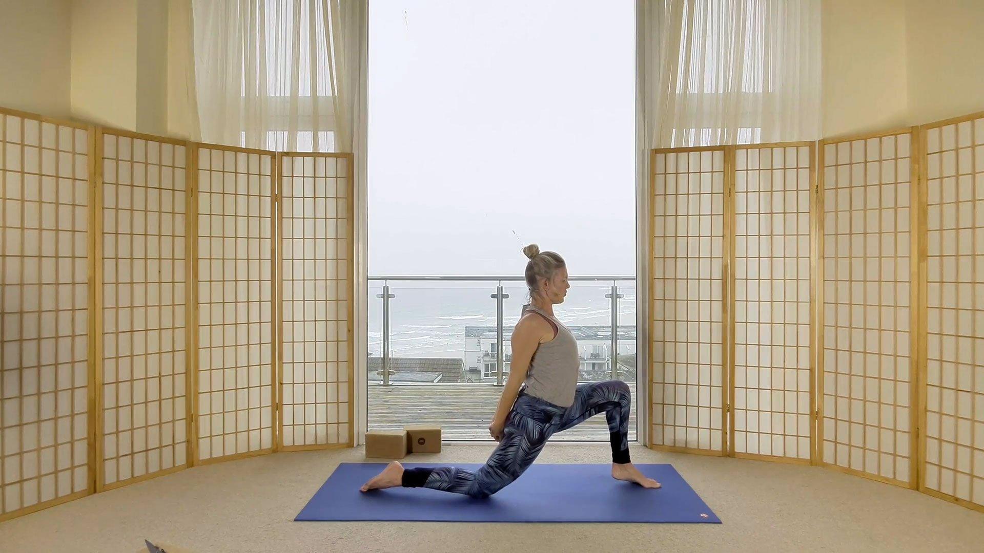 sunrise flow yoga hip mandala on demand