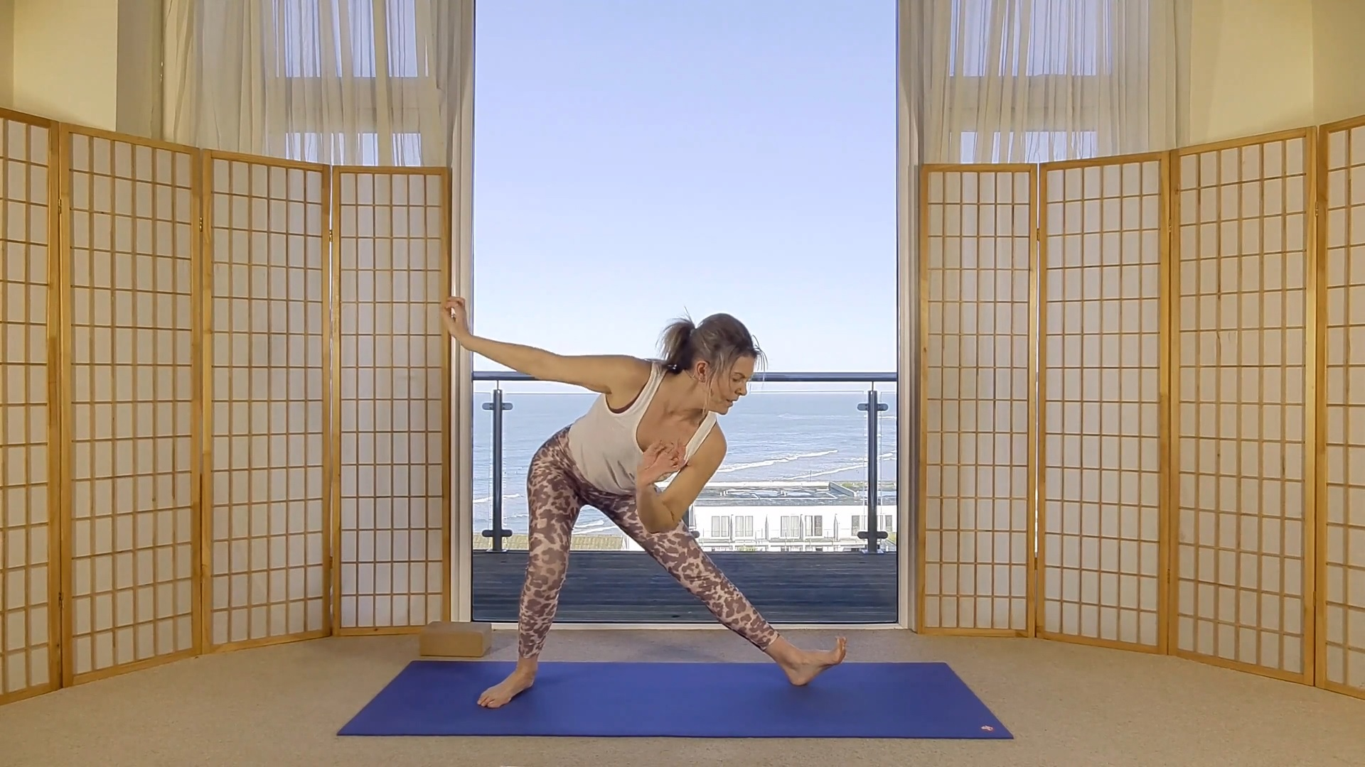 Flow yoga rainbow warrior online yoga on-demand