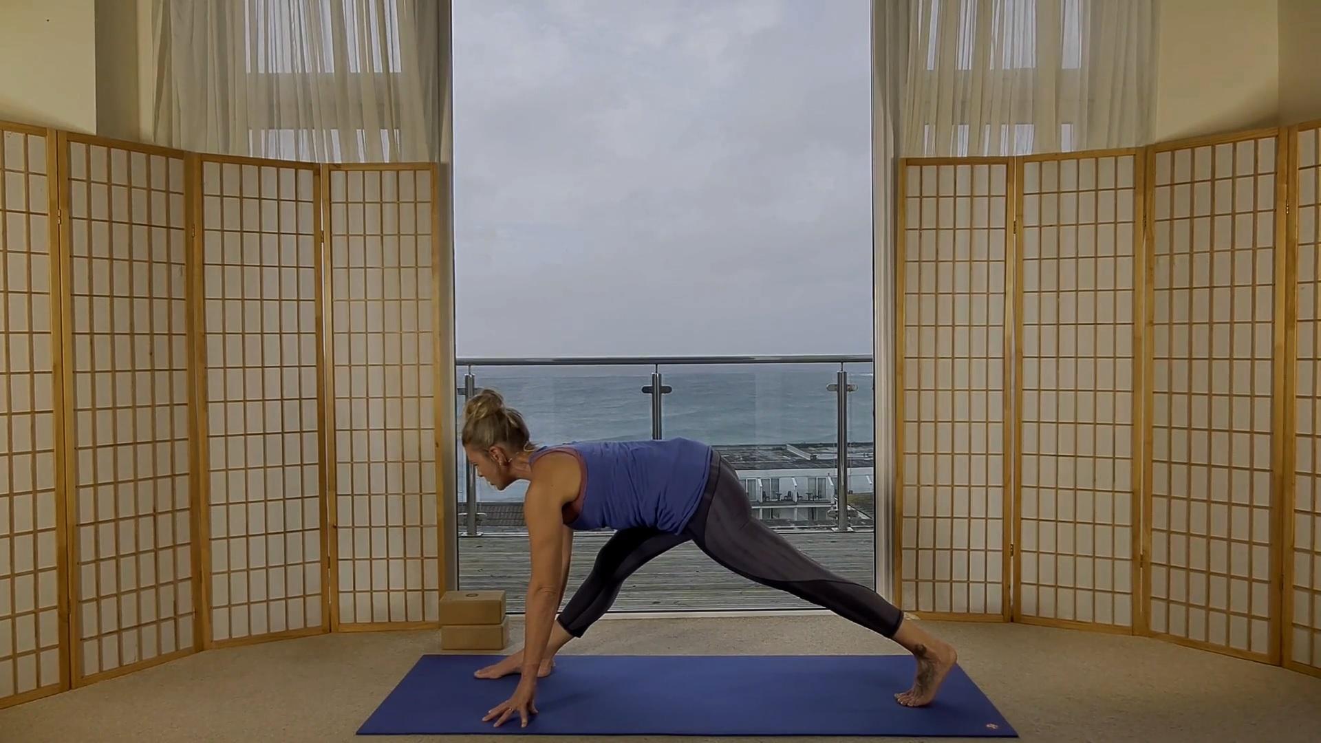 Oceanflow Yoga on demand hanuman vinyasa bhakti