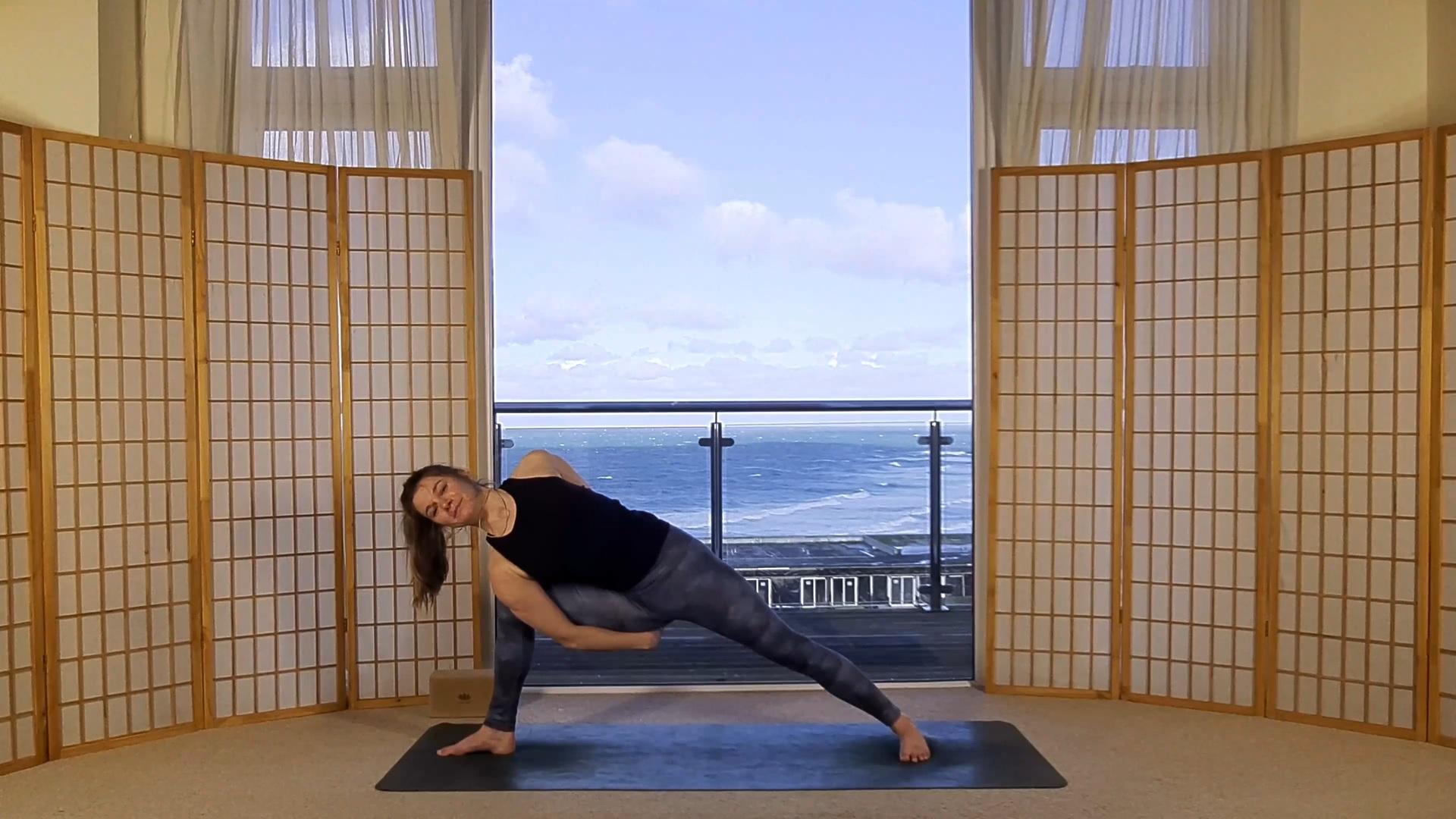 Oceanflow Anywhere hot yoga on demand yoga courses UK