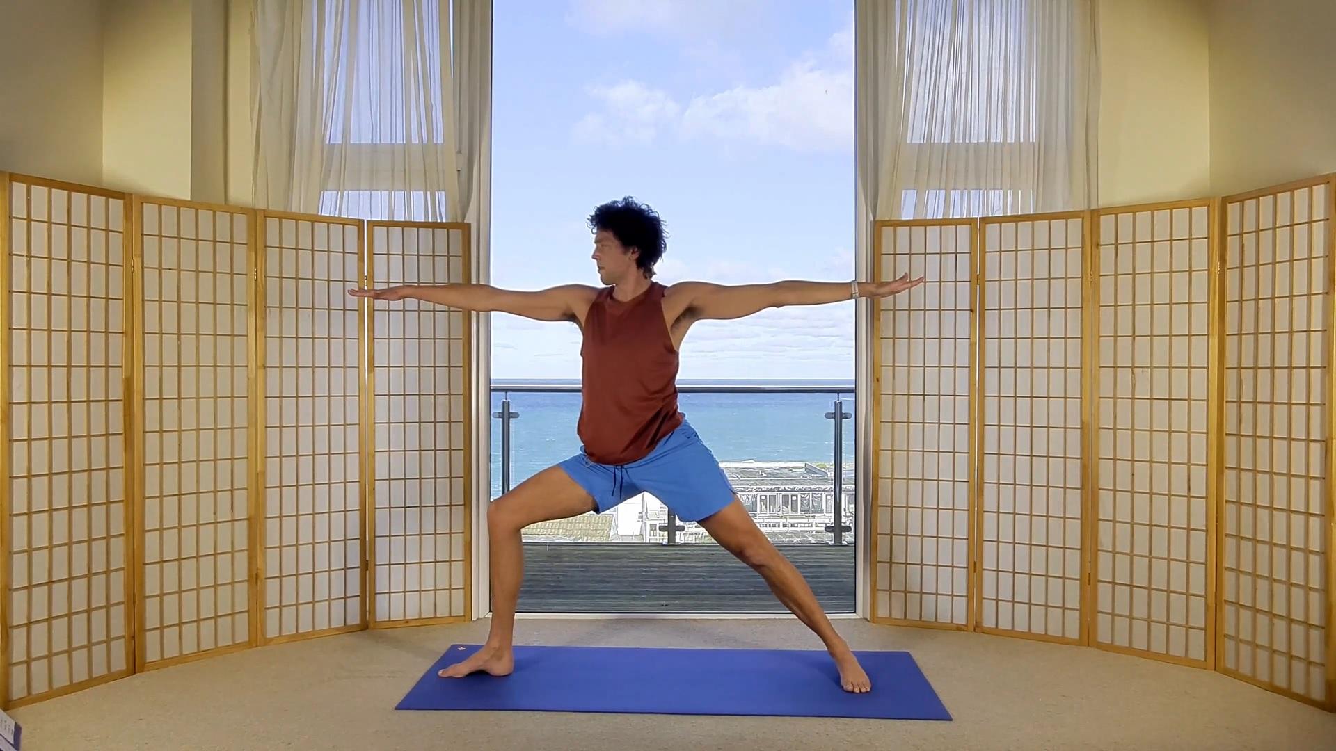 morning yoga sunrise Oceanflow online meditation