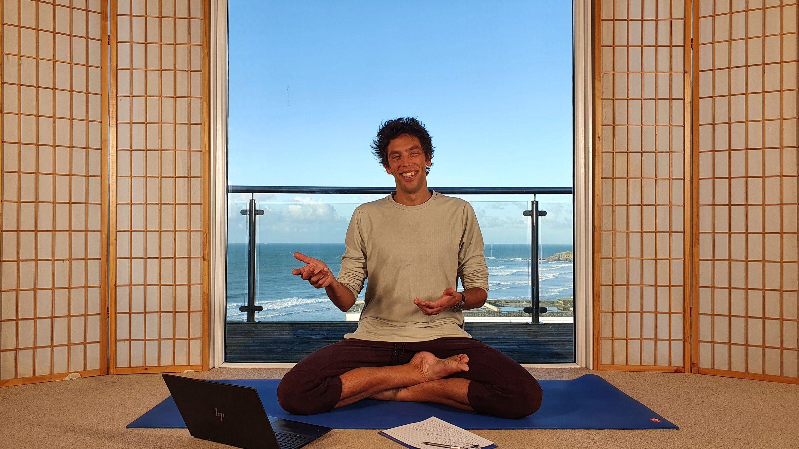 Oceanflow Anywhere meditation course for beginners