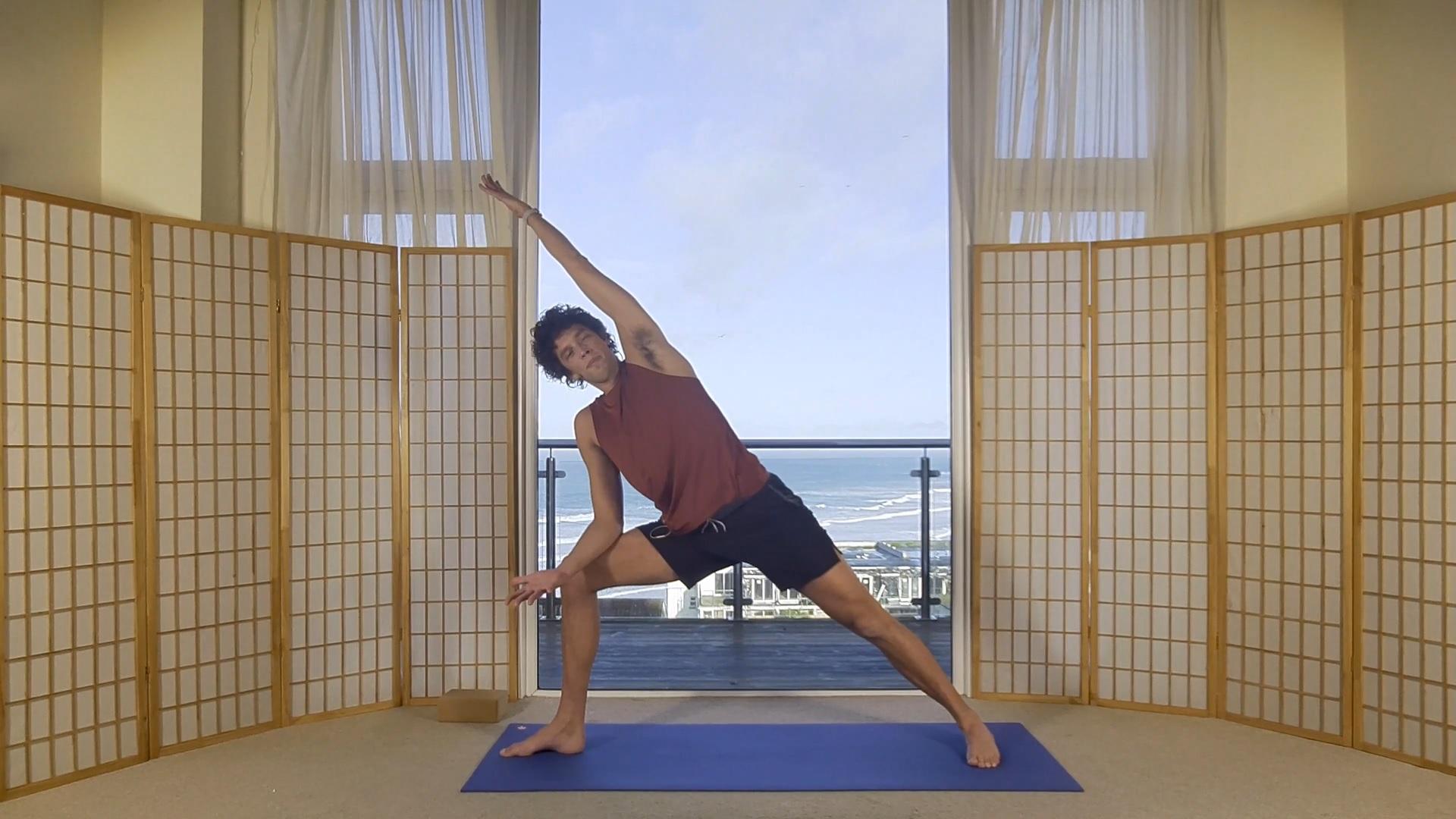 Foundation Beginner Yoga Hips Alignment Oceanflow online