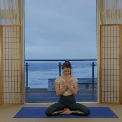 Fusion Yin Yang Flow Restorative Yoga on-demand Oceanflow Anywhere