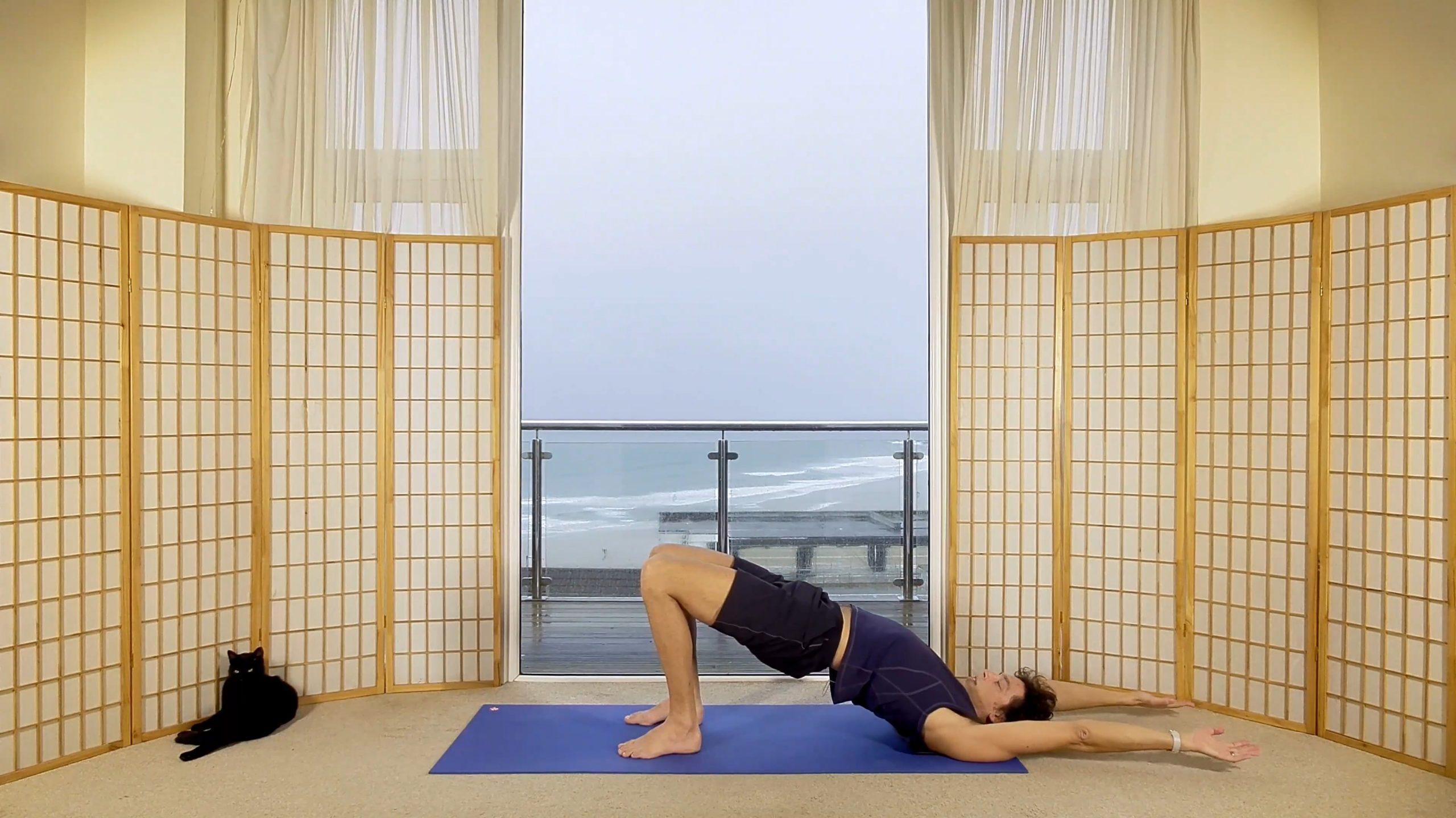 slow flow 30 slow steady flow online on demand yoga