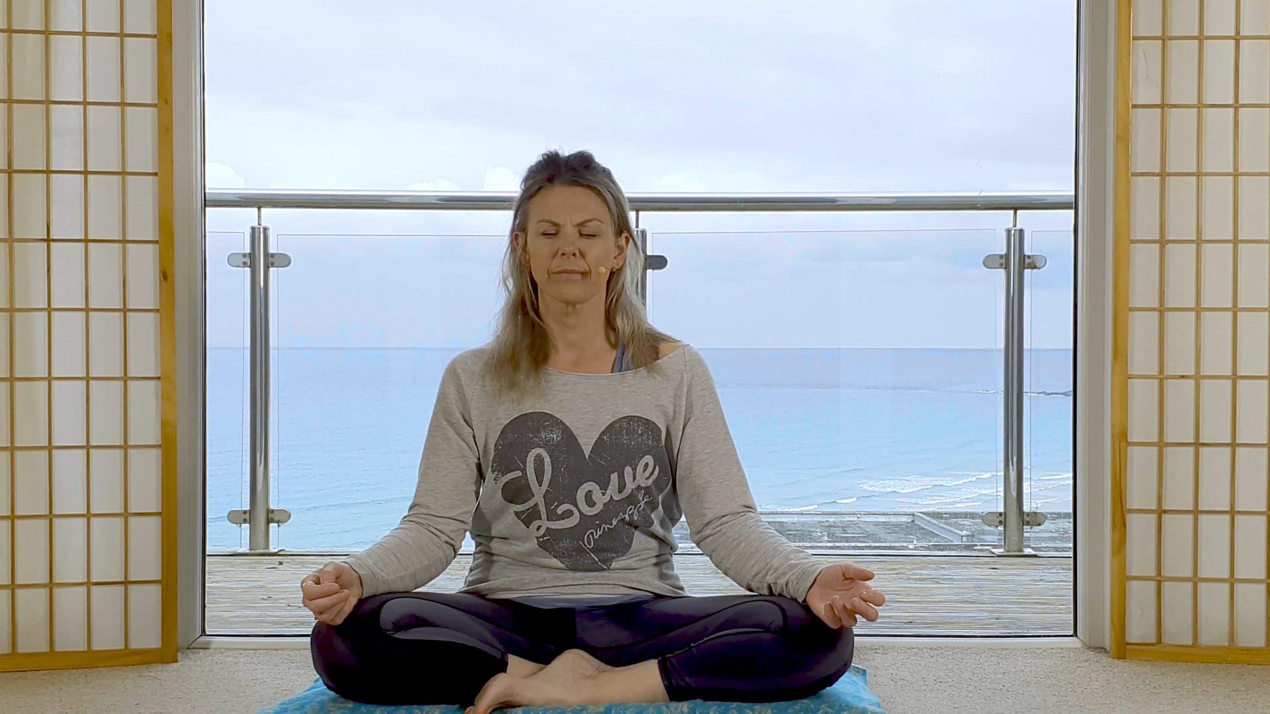 Online meditation relaxation on demand yoga