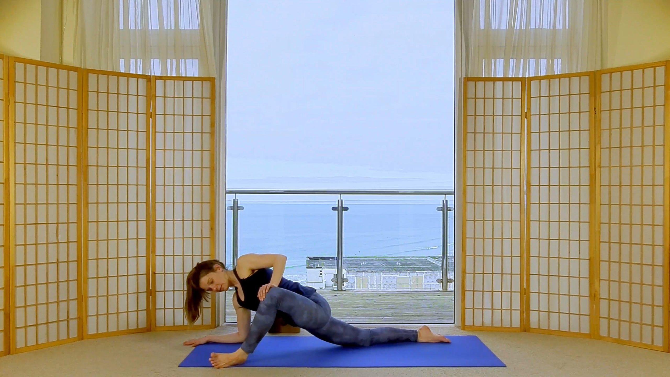 Fusion Yin Yang Flow Restorative Yoga on-demand Oceanflow Anywhere