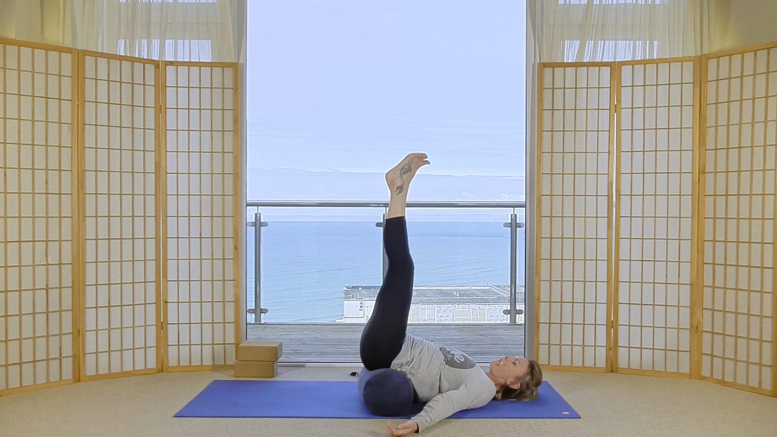 slow flow relaxation online yoga oceanflow