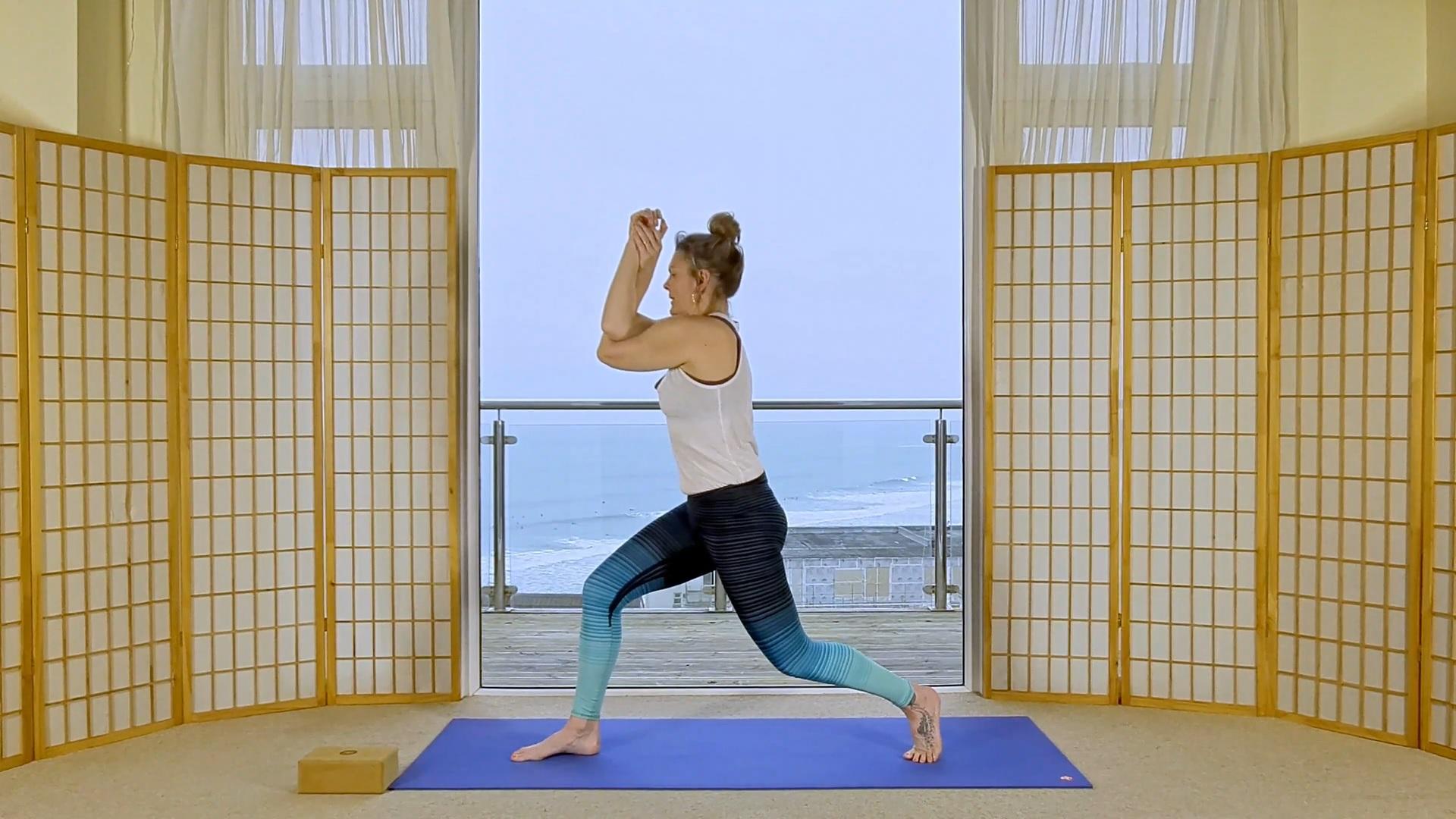 online on-demand vinyasa seasonal yoga element water flow strength wood