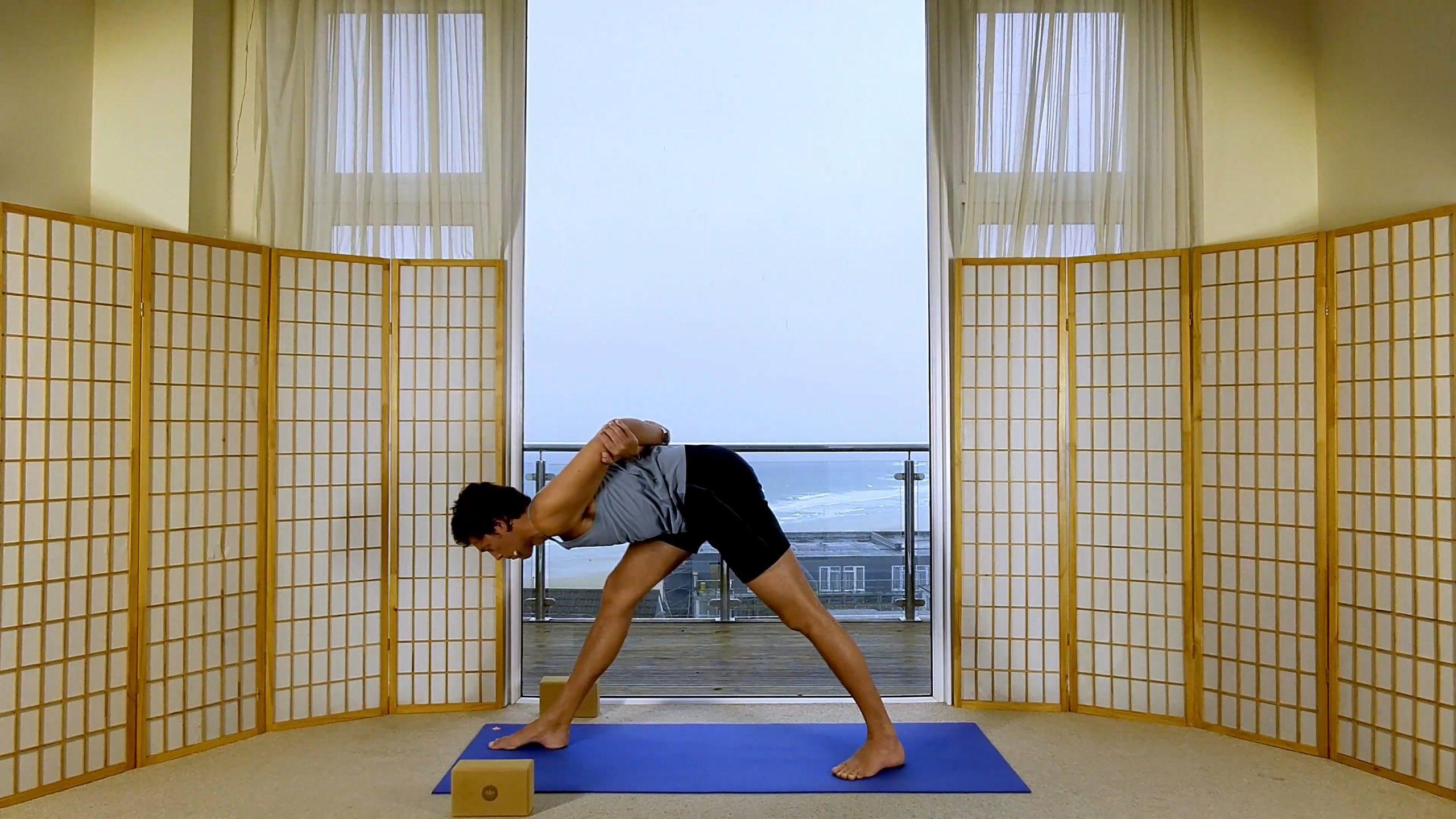 Foundation Beginner Yoga Hip Hamstrings Alignment Oceanflow online