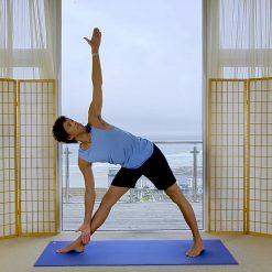 morning yoga sunrise Oceanflow online meditation ashtanga