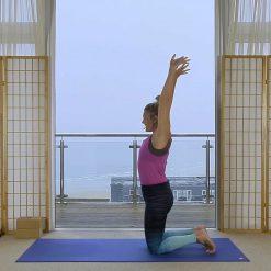 morning yoga sunrise Oceanflow online vinyasa